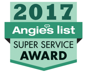 2017 Angie's List Super Service Award - Park Heights Roofing